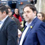 Presó incondicional per a Junqueras i set consellers destituïts i eludible per a Santi Vila