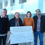 Perafort i Puigdelfí fan entrega d'un donatiu per a la investigació contra el càncer infantil