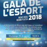 L'Ajuntament de Mont-roig del Camp organitza la primera Gala de l'Esport