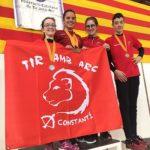 El Club de Tir amb Arc Constantí recull èxits al Campionat de Catalunya