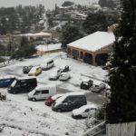 Imatges de la nevada a les comarques de Tarragona
