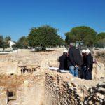Comencen les obres de restauració dels banys de la vil·la romana dels Munts