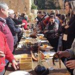 Una cinquantena d'empresaris i comerciants celebren la calçotada tradicional d'ATECA