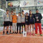 Els cadets del Club Tennis Tarragona, sotscampions d'Espanya de pàdel