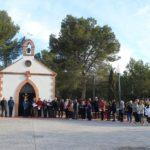 Més de cinquanta veïns de de Creixell participen del tradicional Via Crucis a l'Ermita de la Mare de Déu de Fàtima