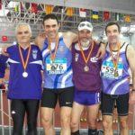 Nou medalles i un rècord de Catalunya pels veterans del CA Tarragona al Campionat d'Espanya