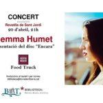 La cantautora Gemma Humet protagonitzarà la revetlla de Sant Jordi a la Biblioteca