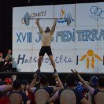 Constantí protagonitza el primer acte popular dels Jocs Mediterranis