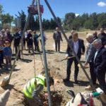La Selva celebra l'inici de la construcció de la nova depuradora amb la col·locació de la primera pedra