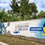 Constantí llueix murals dels Jocs Mediterranis Tarragona 2018