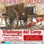 Primera Fira Artesanal i Gastronòmica del Pagès aquest dissabte a Vilallonga del Camp