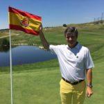 El capità de l'equip espanyol de golf accepta el «repte de medalles amb moltes ganes»