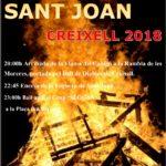 Creixell ja té enllestit el programa de la revetlla de Sant Joan