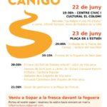 L'arribada de la Flama del Canigó,protagonista de la Revetlla de Sant Joan a Vila-seca