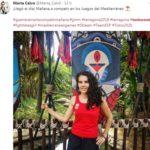 Marta Calvo en taekwondo, nom propi d'un dijous amb finals d'atletisme, golf, judo i tennis-taula