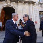 Torra i Ballesteros inauguren el «somni» del Pavelló