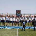 Un gol sobre la botzina d'un immens Abel Ruiz dóna l'or a la Rojita