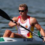 El piragüista espanyol medalla d'or a Rio Marcus Walz competirà als Jocs i cau Saül Craviotto