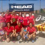 L'equip femení de pàdel del CTT es proclama campió de Catalunya