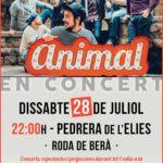 El grup Animal actuarà el proper dissabte a la Pedrera de l'Elies de Rod