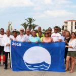 Banderes Blaves i qualitat a les platges de Roda de Berà