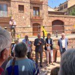 Prades inaugura la nova plaça dels Arbres