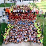 Prop de 240 infants i joves diuen adéu als campus d'estiu de Roda de Berà