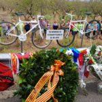 Més de 2.000 ciclistes reclamen l'enduriment del codi penal en la marxa per les dues víctimes mortals de Riudoms
