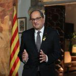 Torra posa un ultimàtum a Sánchez reclamant pactar un referèndum aquest mes