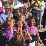 Els Castellers de Figueres guanyen la primera jornada del XXVII Concurs de Castells