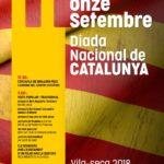 Vila-seca commemora la Diada Nacional de Catalunya