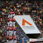 La Vella de Valls encapçala el Concurs de Castells a la fi de la primera ronda gràcies al 4 de 9 net