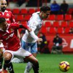El Nàstic li posa fe però cau davant la intensitat del Saragossa