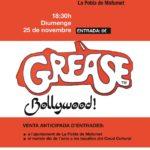 La versió Bollywood i solidària de 'Grease', aquest diumenge a La Pobla de Mafumet