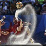 Recepció de l'Ajuntament als tres torrencs protagonistes dels èxits mundials assolits en futbol platja