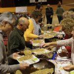 Un centenar de persones al dinar solidari de 'Las Migas' en favor de l'ONG Creixell amb els infants sahrauís