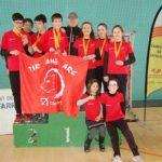 El Club de Tir amb Arc Constantí tanca l'any amb 14 medalles a la final de la Lliga Catalana i al Campionat de Catalunya de menors