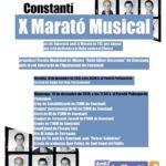 Marató Musical, lectures i fletxes solidàries per la Marató de TV3 a Constantí