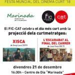 El FIC-CAT celebra el dia més curt amb la projecció de dues comèdies
