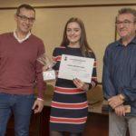 La patinadora constantinenca, Elena Nicolau, rep un reconeixement pel seu quart lloc al Campionat del món