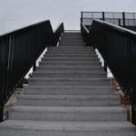 Torredembarra rehabilita la passarel·la sobre les vies del tren de Baix a Mar
