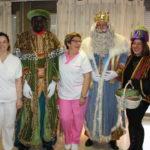 Els Reis Mags visiten a la gent gran de Creixell