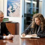 La presidenta de los Puertos del Estado visita el Port de Tarragona