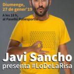 Espectacle d'humor amb Javi Sancho, aquest diumenge a Constantí