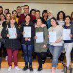 Entrega dels diplomes de formació ocupacional a Constantí