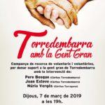 Càritas Torredembarra inicia la recerca de voluntaris de suport a la gent gran