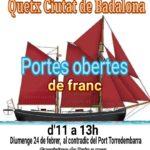 El quetx «Ciutat de Badalona» arriba a Torredembarra