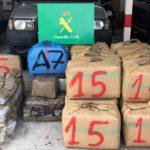 Detingut a Vila-seca un membre d'una organització que introduïa haixix pel mar Menor
