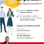 El PSC de Mont-roig convoca a la ciutadania a participar en l'elaboració del seu programa electoral
