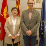 La delegada del Govern a Catalunya fa una visita institucional a l'Ajuntament de Constantí